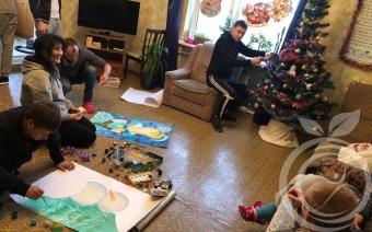 """Подготовка к Новому году 2019 в Севастопольском центре """"Мой выбор"""""""